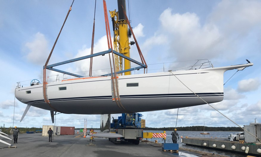 Swan 65-104 launched - Nautor's Swan